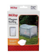 NUBY* Elastic Edges PLAYPEN NETTING Fits Most Standard TIGHT MESH NET Fo... - $14.99