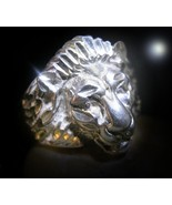HAUNTED RING THE LION'S COMMAND DECLARE WHAT YOU WANT EXTREME OOAK SECRE... - $1,688.67