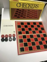 Vintage 1981 Whitman CHECKERS Board Game (#4708-22) - $14.84