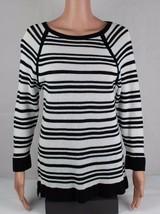 L-RL Lauren Active Ralph Damen Pullover Strickware Gestreifte Baumwolle Größe XL - $20.03