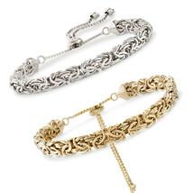 "Adjustable Byzantine 5-1/2"" Chain Bracelet - $9.99"