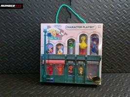 Vintage Sesame Street Character Playset Big Bird Elmo Ernie Super Grover... - $49.49