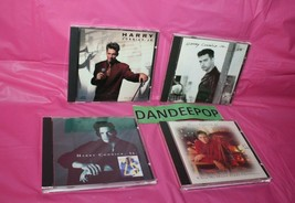 4 Harry Connick Jr. Music cd's We Were In Love She When My Heart Finds C... - $19.79