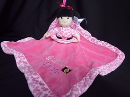 "Little Diva/Born to Shop Rattle Lovey Security Blanket Reversible Pink 14"" - $18.57"
