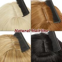 NEW 11'' Lady Hair Topper Real One Piece Full Head Clip In Hair Extension image 11