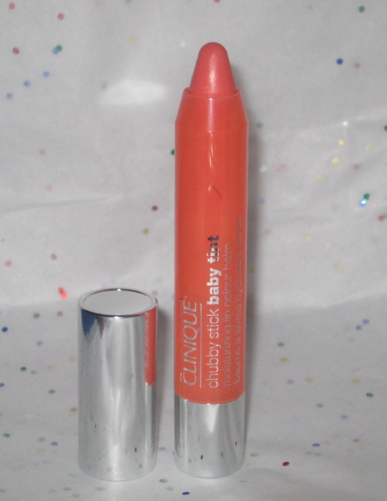 Primary image for Clinique Chubby Stick Baby Tint Moisturizing Lip Colour Balm in Poppin Poppy