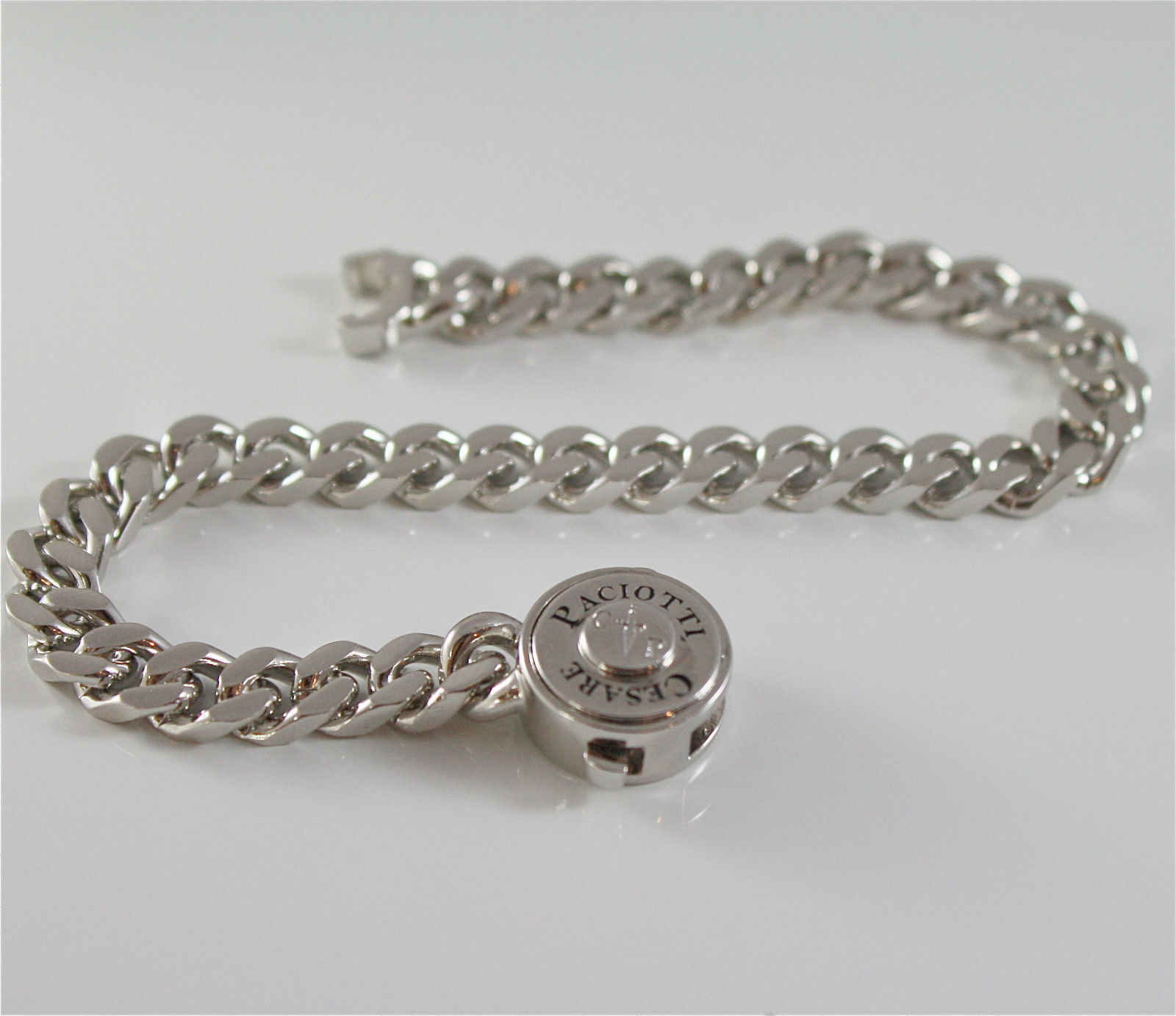 Bracelet Cesare Paciotti 925 Silver & Steel Top Groumette JPBR1269B