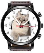 Siberian Cat Unique Wrist Watch FAST UK - $45.00