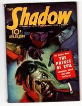 Shadow 1940 Apr 15-STREET And Smith Pulp Magazine - $242.50