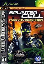 Tom Clancy's Splinter Cell: Pandora Tomorrow (Microsoft Xbox, 2004) - $2.33