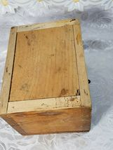 VINTAGE CLARITE HIGH SPEED COLUMBIA TOOL STEEL CO. WOODEN BOX image 7