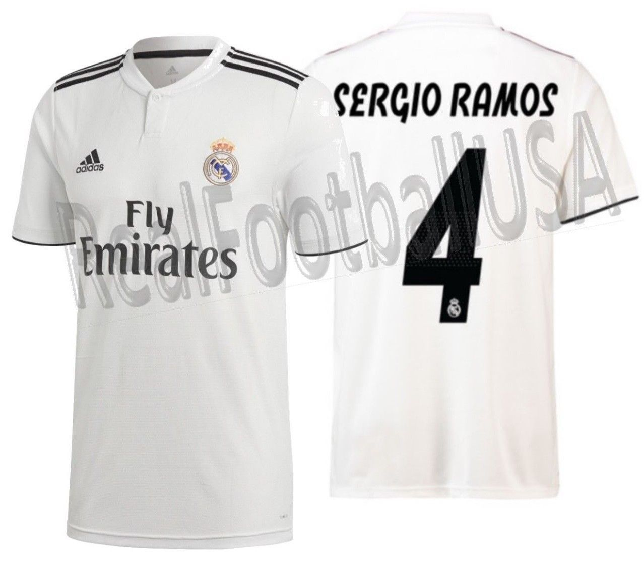 b7bbdfb89 Adidas Sergio Ramos Real Madrid Home Jersey and 50 similar items. 57