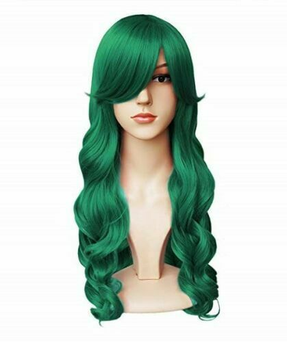 Green Wig Womens Hairpiece for ST. Patricks Day - Halloween - Costume - CosPlay