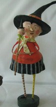 Lori Mitchell Halloween Witch Annie McFanny Figure Folk Art Retired  Ne... - $31.19