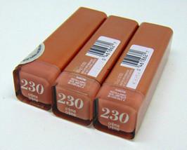 Lot of 3 COVERGIRL COLORLICIOUS Lipstick No.230 Creme 0.12oz./3.5g - $9.11