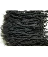 100% Human Hair handmade Dreadlocks 25 pieces stretch 16-18''  - $198.00