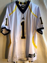 Adidas Authentic NCAA Jersey  Michigan Wolverines #1 White sz 48 - $49.49
