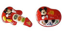 Disney Mickey Mouse My First Guitar and Piano Bundle - $34.90