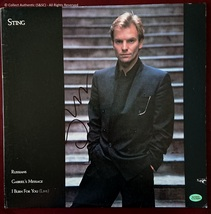 Sting Autographed Record Album Cover - $495.00
