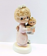 Precious Moments 1987 Love Is The Best Gift Of All 110930 - $16.10