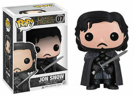 Funko Pop Game Of Thrones Jon Snow Nights Watch Longclaw Vinyl Figure #0... - $14.99