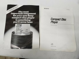 Original Sony CDP-C515 CD Player Owners Manual Operating Instructions (b... - $13.56