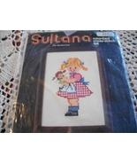 Sultana Girl With Doll & Boy With Bike Cross Stitch Charts - $6.00