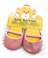 Build A Bear Accessories Bear Bootique Pink Sparkle Flat Dolls Toys Shoe... - $13.28