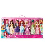 NEW SEALED 2018 Disney Princess Party Dress Pack 7 Dolls Target Exclusive  - $83.79