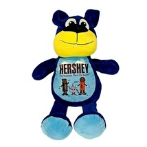 Hershey Park Plush Blue Teddy Bear Stuffed Animal Peek A Boo Toys Toy Ca... - $14.84