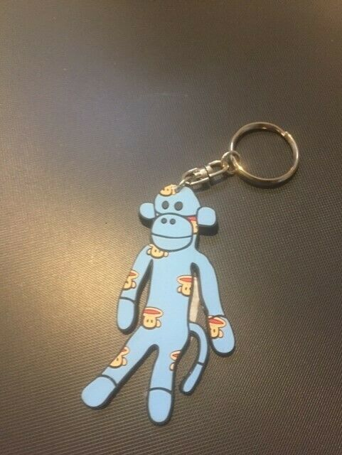 Paul Frank Julius sock money plastic key ring