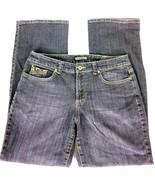 Nine West Womens Jeans Embellished Pockets Dark Wash Jeans Size 12 Small... - $1.48