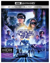 Ready Player One (4K Ultra HD + Blu-ray + Digital, 2018) New