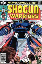 Shogun Warriors Comic Book #7, Marvel Comics 1979 FINE - $4.50