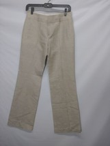 Banana Republic Women's Trousers No. 718 Martin Fit Ivory Cotton Linen Sz 0 - $14.69