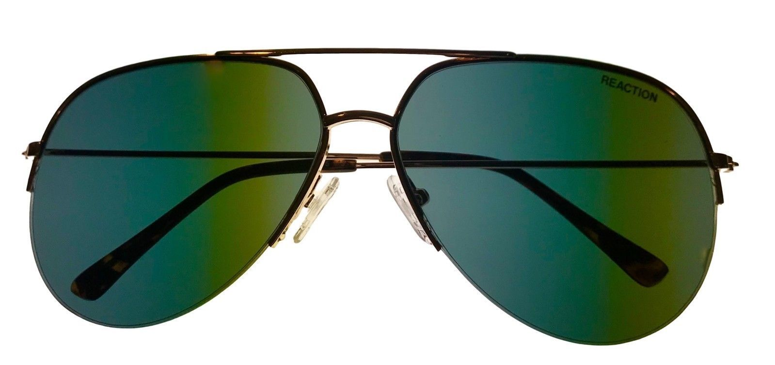 Kenneth Cole Reaction Mens Sunglass Gold Rimless Aviator, KC1307 32N image 4