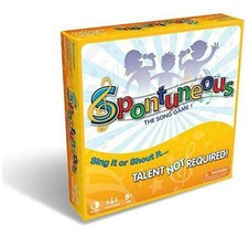 Spontuneous - The Song Game - Sing It or Shout It - Talent NOT Required - $45.20