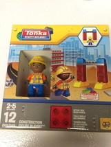 Tonka Mighty Builders 12 Piece Construction Figure Playset NEW Ages 2-5 - $7.50