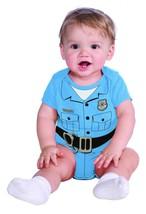 Baby's Police Officer Onesie Halloween Costume - €8,82 EUR