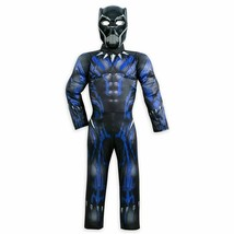 NEW Disney Avengers $49 Black Panther Light Up Costume Halloween Boys, S... - $17.96