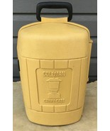 Vintage Coleman Yellow Lantern Hard Carry Case Clam Shell W/Handle 1978 - $53.45