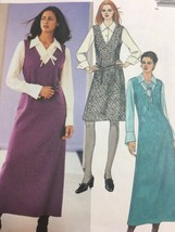 McCalls 3327 Womens Jumper Blouse Vintage Sewing Pattern Size 6 8 10 12 - $6.21