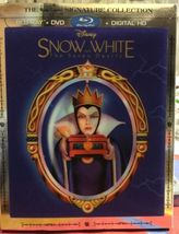 Disney Snow White And The Seven Dwarfs [Blu-ray + DVD] Lenticular Best Buy cover