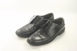 NICE Men's Nunn Bush Comfort Gel Dress Shoes Black Leather 12M - $19.99