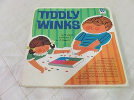 WHITMAN TIDDLEY WINKS board game Vintage Kids Toy - $17.93