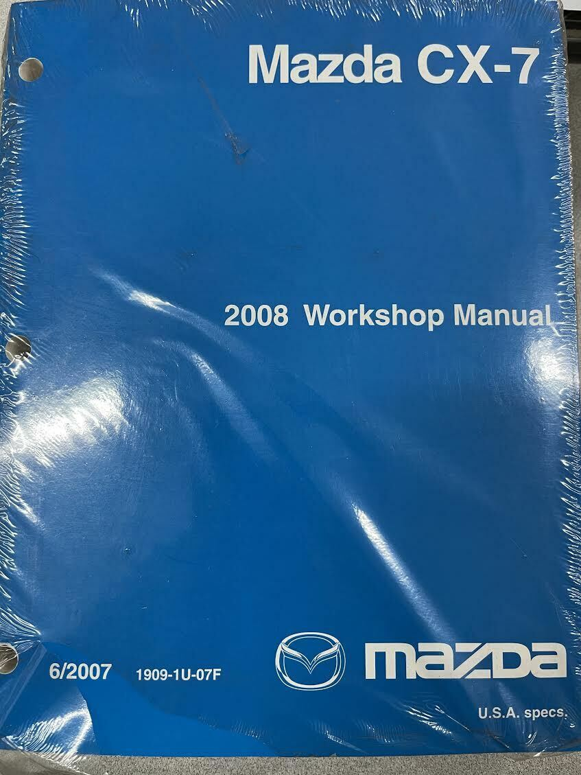 Primary image for 2008 Mazda CX7 CX-7 Service Shop Repair Workshop Manual OEM Factory