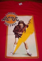 Vintage Style Acdc High Voltage Angus Young T-Shirt Xl New - $19.80