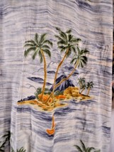 Men's Campia Moda Aloha Shirt ~ Multi Color ~ Large - $15.32