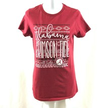NCAA Alabama Crimson Tide Womens T Shirt Short Sleeve Red Size L - $14.50