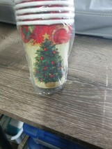 American Greetings Christmas Cups. 8Ct. Hot or Cold Beverages. 8-9oz. Festive  - $7.87